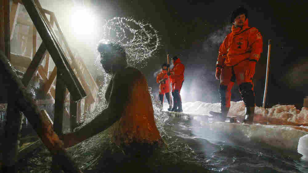 In Russia, Epiphany Comes With A Shockingly Cold Swim
