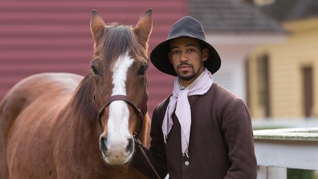 A history actor/interpreter at Colonial Williamsburg in Virginia. (Courtesy of Colonial Williamsburg)