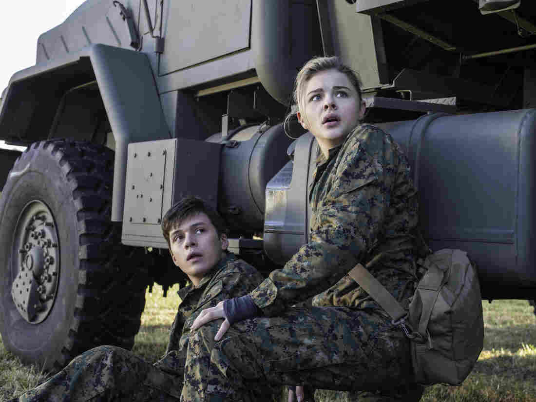 "Chloë Grace Moretz and Nick Robinson star in Columbia Pictures' ""The 5th Wave."""