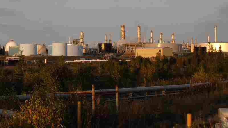 The Tesoro Refinery at Nikiski in Kenai, Alaska, in 2008.