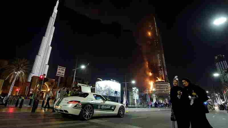 Flames that engulfed Dubai's Address Downtown hotel on New Year's Eve were caused by an electrical short, forensics experts said Wednesday.