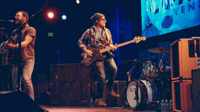 Dr. Dog performs at World Cafe Live in May 2015.