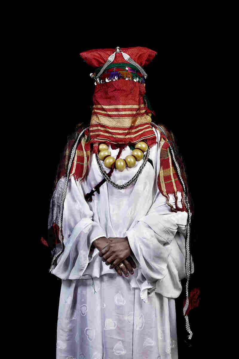 Mariée de Khamlia, Sud du Maroc, 2014