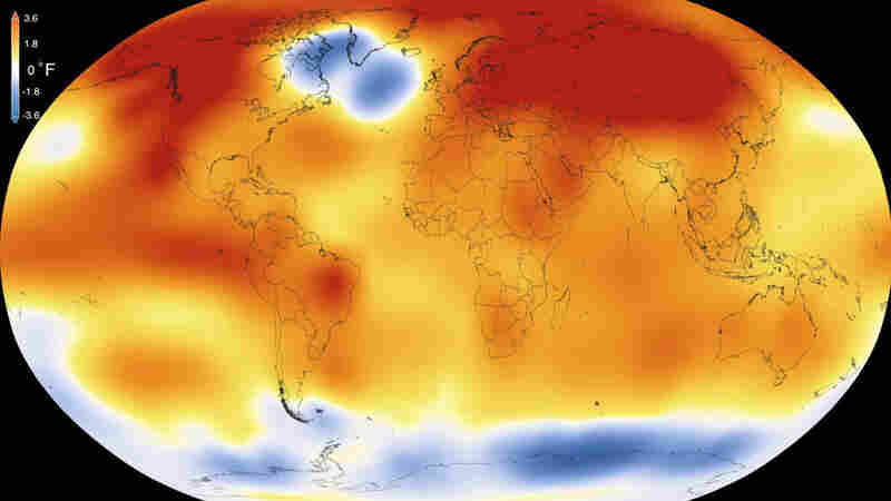 2015 was the warmest year on record — and by the widest margin ever, according to a new analysis by NASA and NOAA.