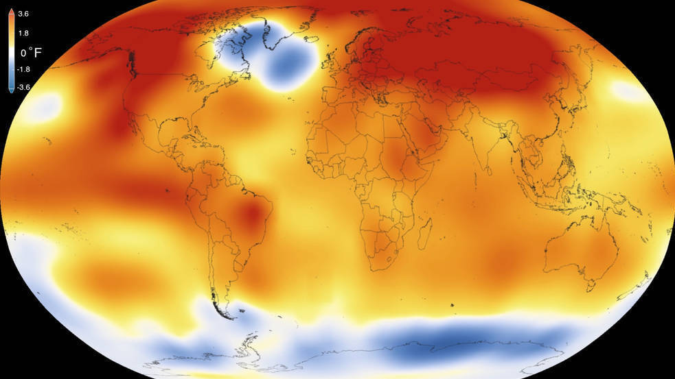 A 'Scorcher': 2015 Shatters Record As Warmest Year, NASA And NOAA Say