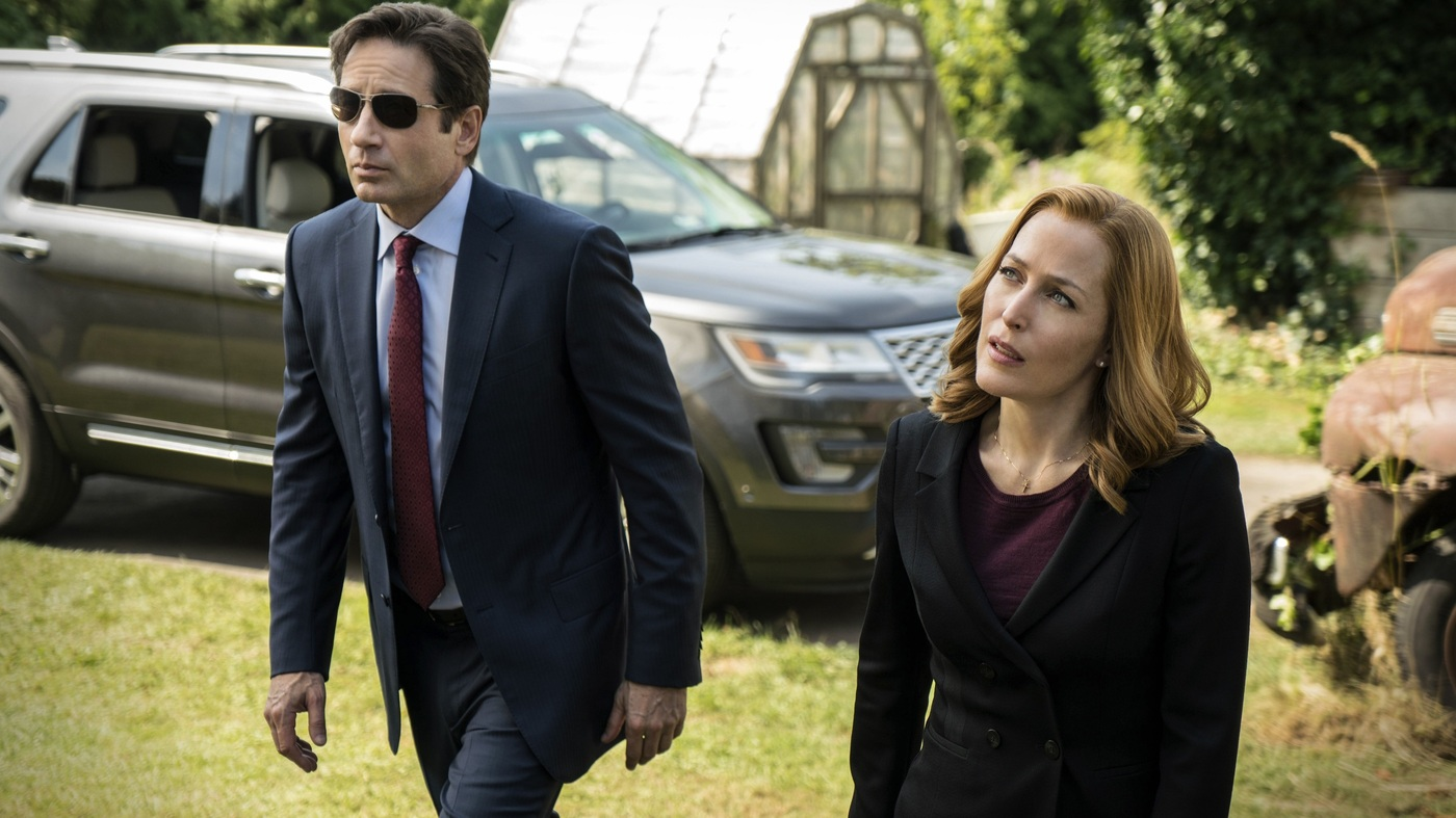 Interview: Gillian Anderson And David Duchovny Of 'The X