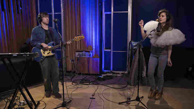 Brazilian Girls perform live for KCRW.
