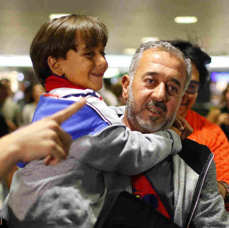 After The Trip Seen 'Round The World, Syrian Refugee Builds A New Life