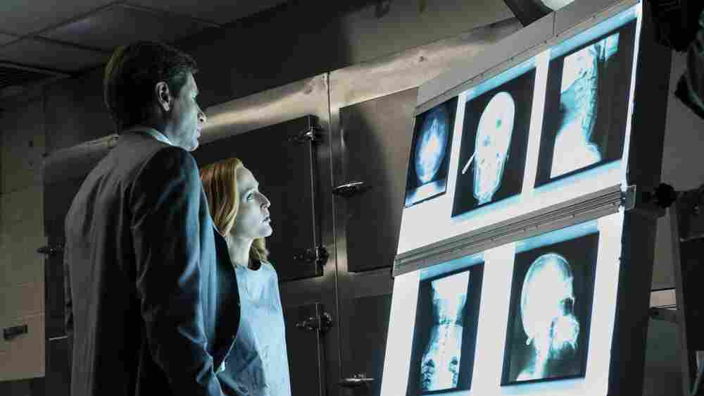 'X-Files' Reboot Brings Back Mulder, Scully And The Search For Truth