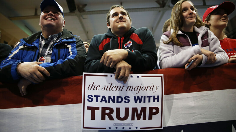 Trump Champions Voucher Program That >> Trump Champions The Silent Majority But What Does That Mean In