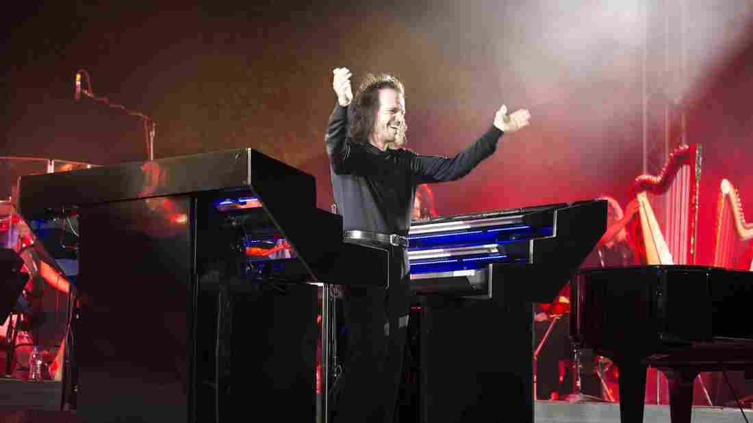 """""""I feel everything that everybody else feels, I promise you,"""" Yanni says. """"But there is no reason for me to write music out of anger or frustration, or anything that is negative."""""""