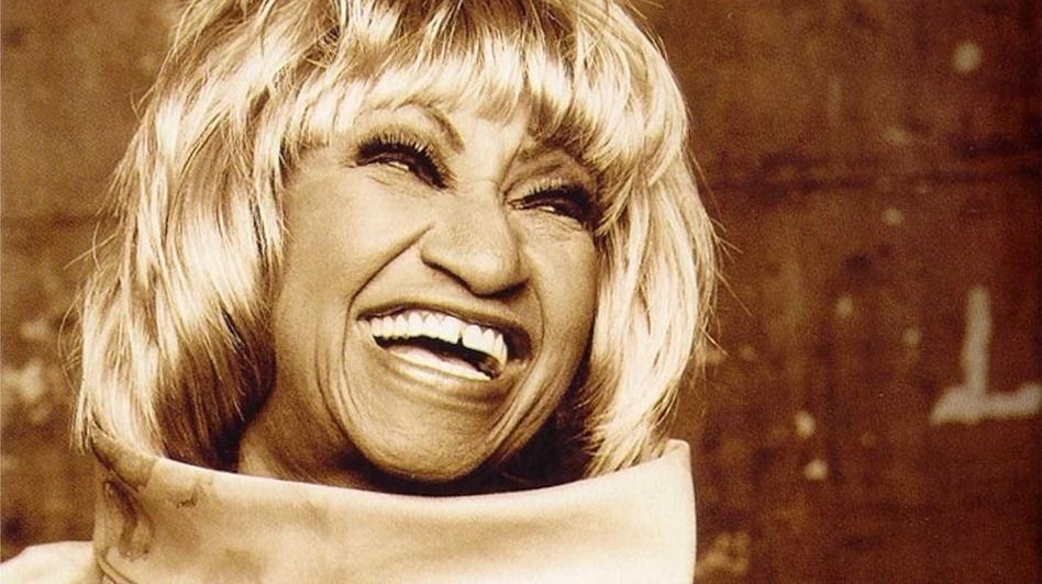 Celia Cruz, the queen of salsa. (Courtesy of the artist.)