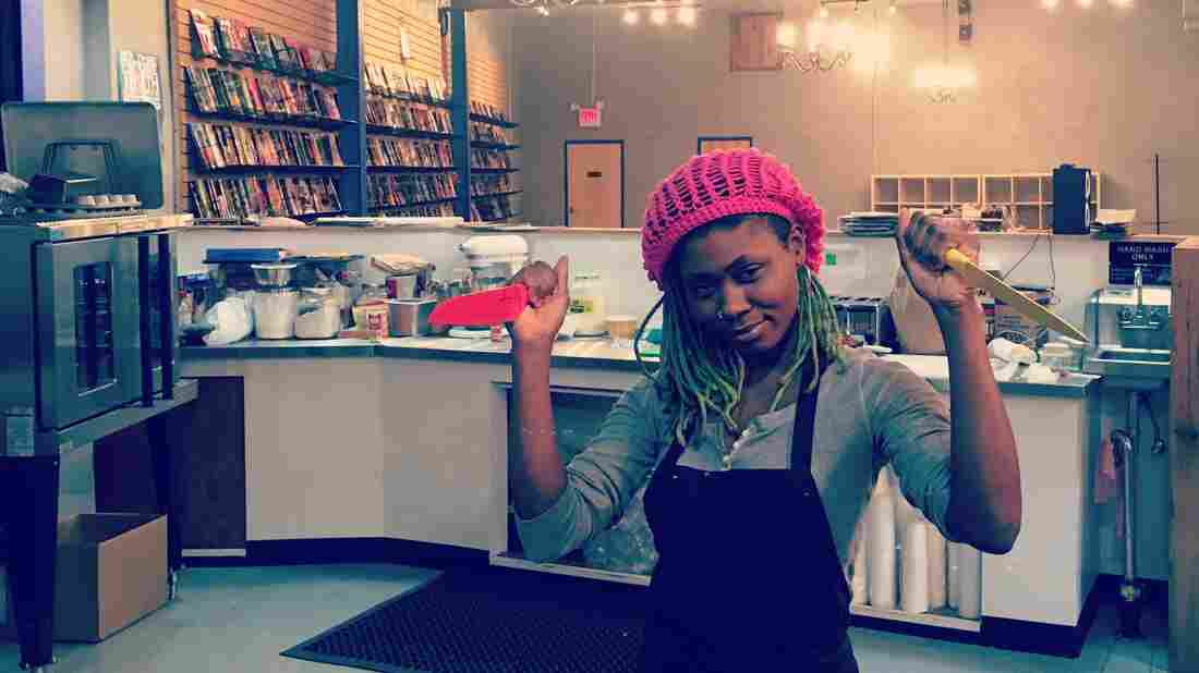 Ariell Johnson has combined her love of comic books with a place where people can socialize in her new business, Amalgam Comics & Coffeehouse.