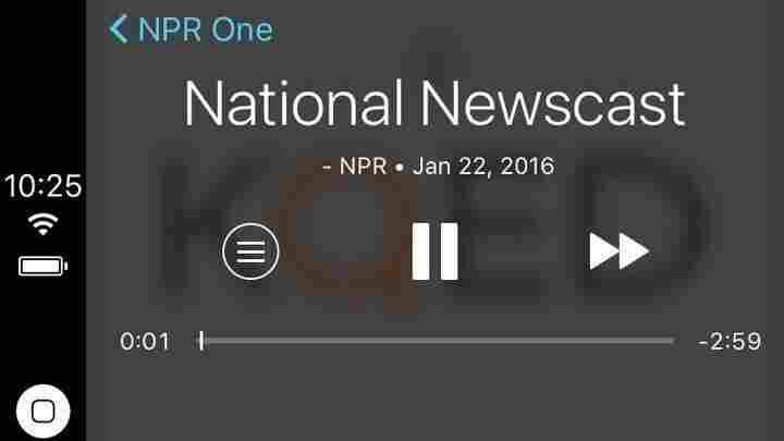 NPR One screen shot