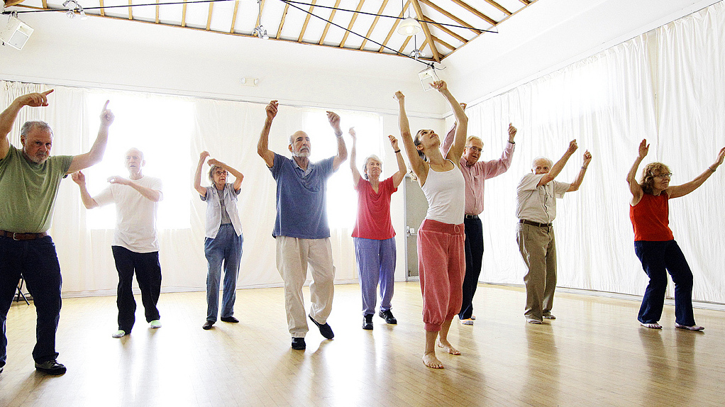 dance returns the joy of movement to people with