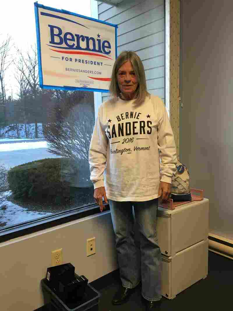 "Bernie Sanders volunteer Carol Couch said she is troubled by the ""rampant cheating and not caring about other people."""