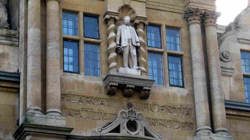 In Quest To Fell Rhodes Statue, Students Aim To Make Oxford Confront History