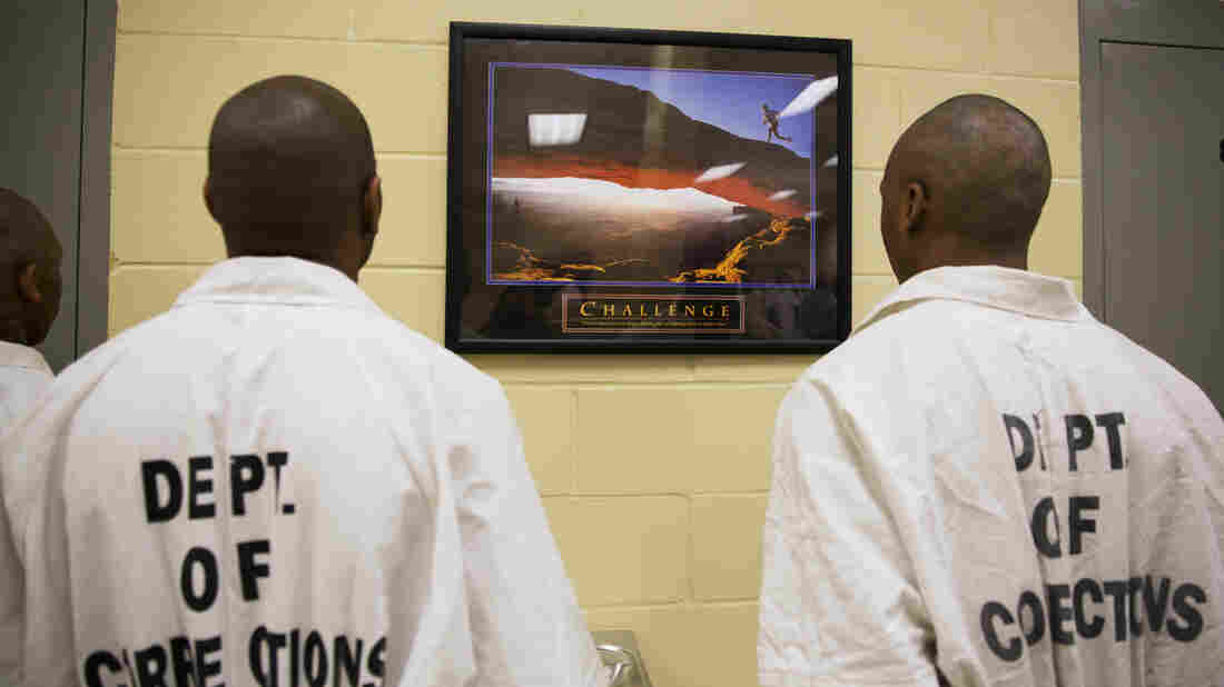 Inmates at the Georgia Diagnostic and Classification Prison in Jackson, Ga., which houses about 2,100 male prisoners.