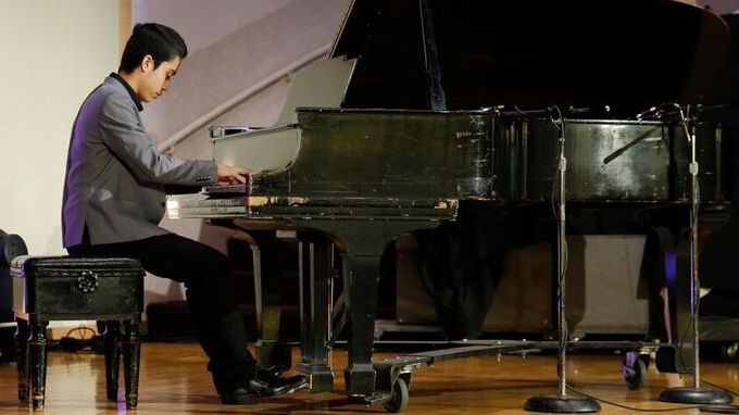 A Young Afghan Pianist Plays For His Country's Future