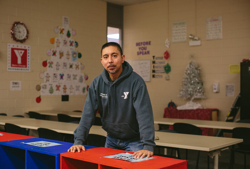 After serving 14 years for a gang-related murder, Eddie Bocanegra graduated from the University of Chicago and created the Urban Warriors program. He is co-executive director of youth safety and violence prevention at the YMCA in Chicago.