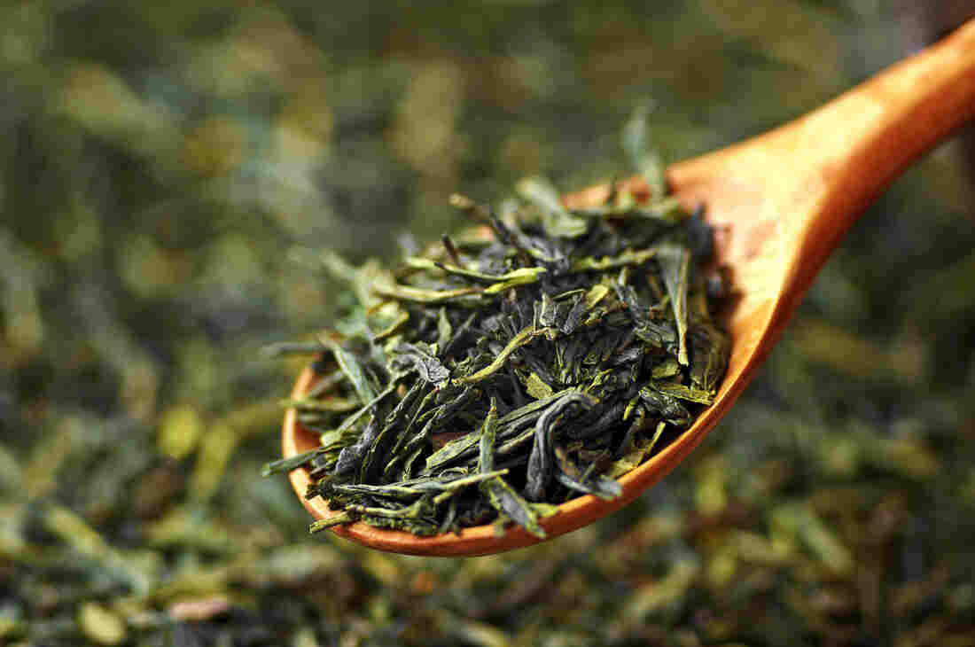 Loose-leaf green tea of the modern variety. Archaeologists have discovered ancient tea in the tomb of a Chinese emperor who died in 141 B.C. It's the oldest known physical evidence of tea. But scientists aren't sure if the emperor was drinking tea as we know it or using it as medicine.