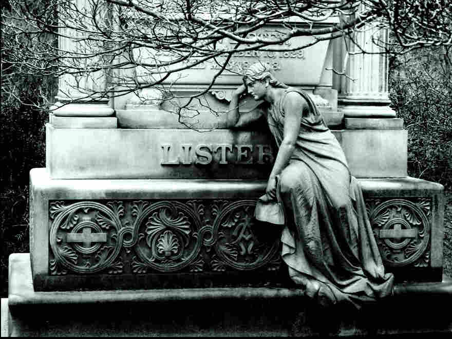 Who pays to keep up cemeteries?