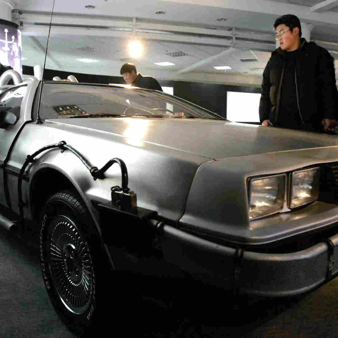 Cars like this DeLorean that was used in the 1980s sci-fi Back to the Future movies may be back on the roads next year.