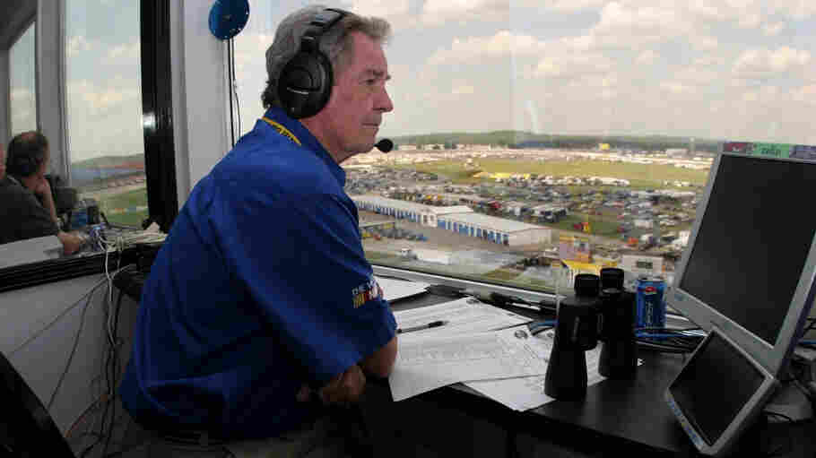 """Whether you met him or not, you felt like you knew him,"" NASCAR Hall of Fame Executive Director Winston Kelley says of longtime broadcaster Barney Hall."