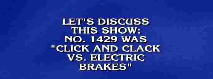 National Public Radio for $400. Answer: Car Talk