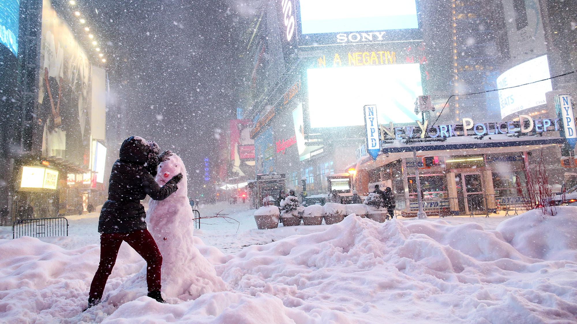 A Big El Niño Was The Likely Instigator Of Last Week's Blizzard