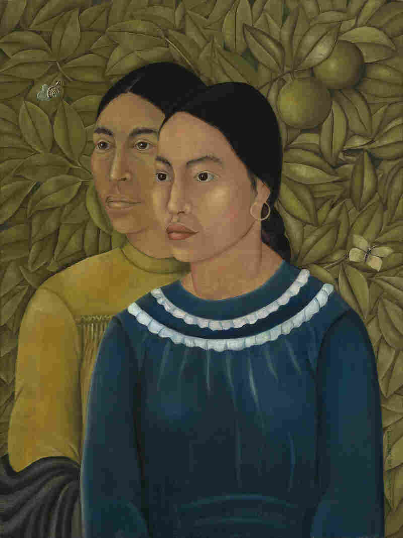 Before it moved to the Museum of Fine Arts, Frida Kahlo's Dos Mujeres (Salvadora y Herminia) belonged to the family of American industrialist Jackson Cole Phillips, who purchased it from Kahlo in 1929.