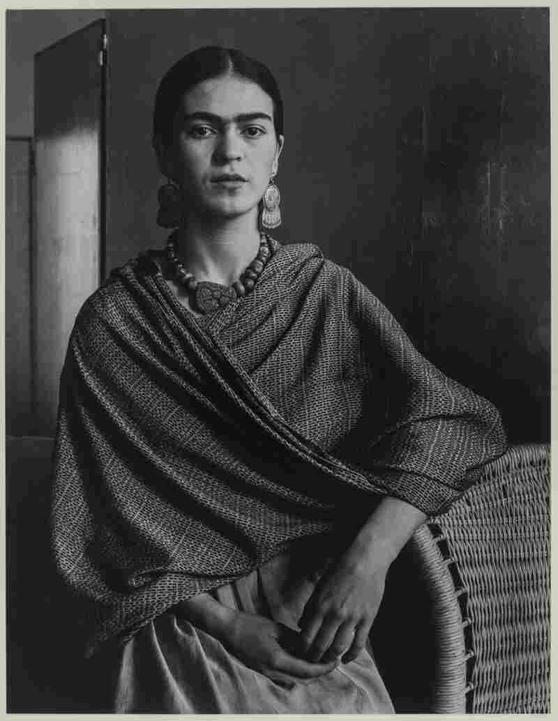Kahlo, seen here in 1931, started painting seriously after a car crash left her spine and pelvis permanently damaged.