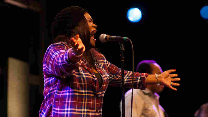 Shemekia Copeland performs at World Cafe Live in Philadelphia.