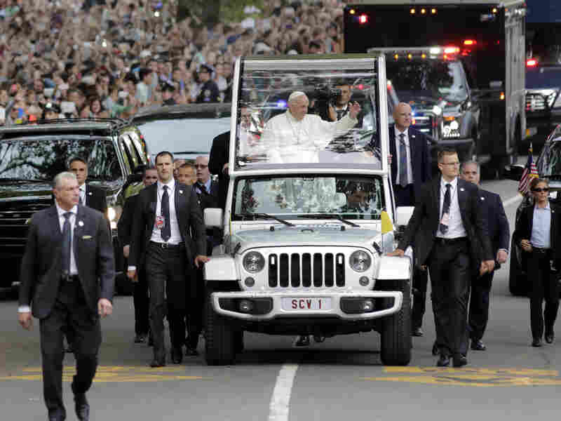 Tickets to Pope Francis' appearance in New York's Central Park last September were sold online by vendors, even though they were supposedly free.