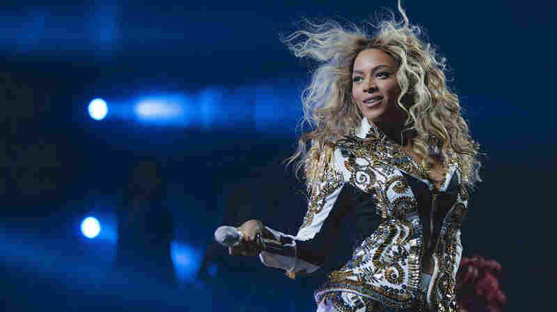 Beyonce performs onstage in 2013 at the Barclays Center in Brooklyn, N.Y.