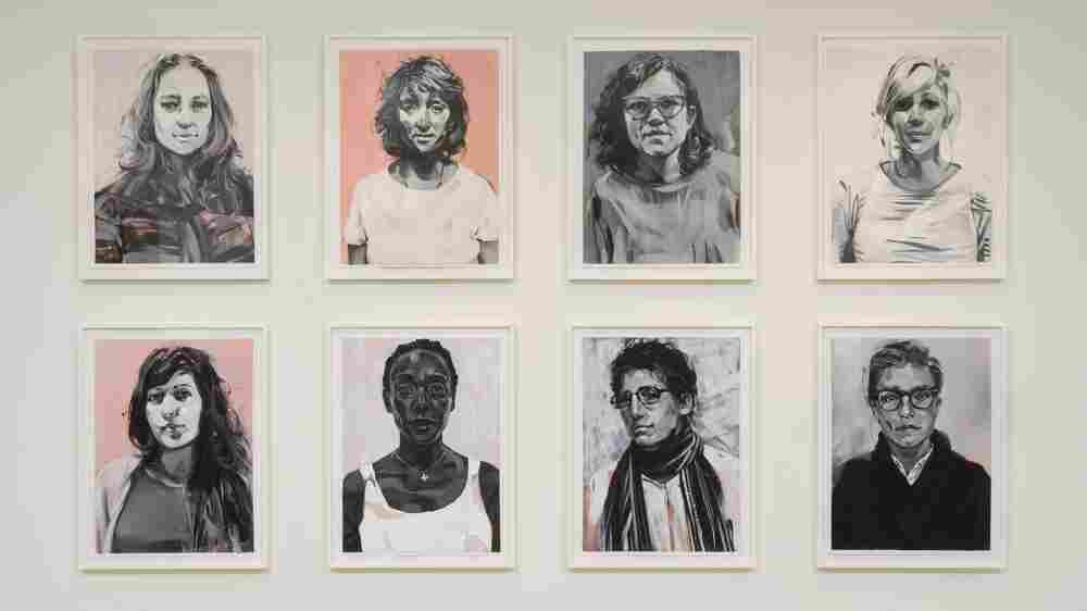 Portraits Of LA's Female Artists Send A Powerful Message: 'You Are Here'