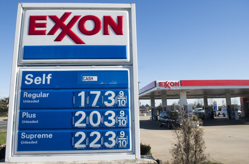 Gas Station Prices >> Why Cheap Gas Might Not Be Good For The U S Economy Npr