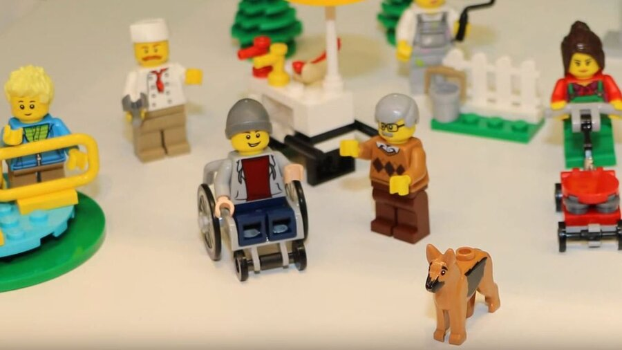 Lego, In A First, Will Unveil A Minifigure In A Wheelchair : The Two ...