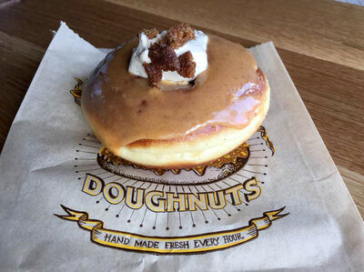 The Pumpkin Fool from Santa Monica, California's Sidecar Doughnuts & Coffee is a ring of delicious evil, and reporter Noah Nelson's personal downfall. If only its gastronomic virtues could be bundled into a virtual, guilt-free version.