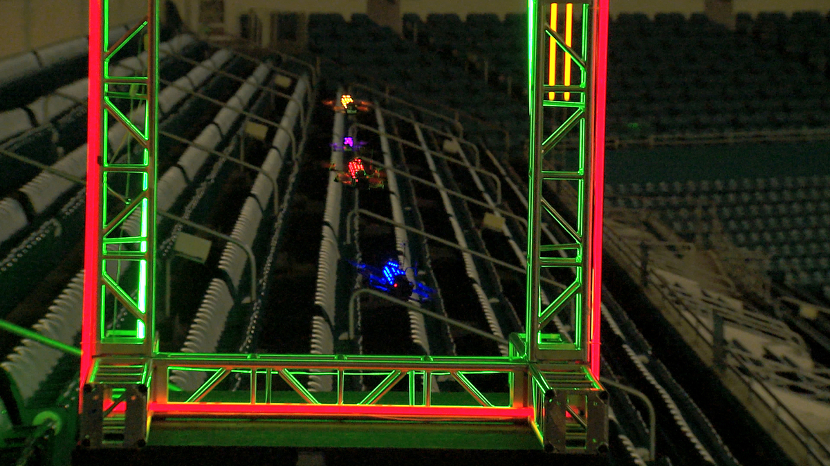 A Video Game Irl Drone Racing League Aims To Be Nascar In