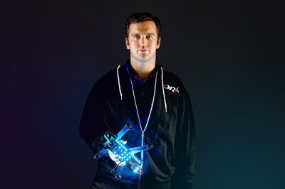 Drone Racing League CEO Nick Horbaczewski says he's been surprised at how many traditional car racing fans the league's online content has attracted. (The Drone Racing League)
