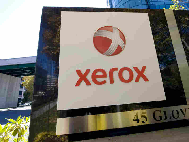 Xerox, headquartered in Norwalk, Conn., says the names of the two companies have yet to be determined.