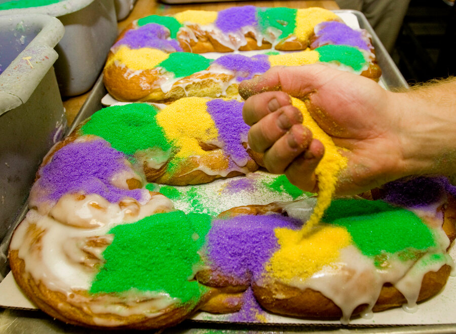 New Orleans A City In The Grip Of King Cake Madness
