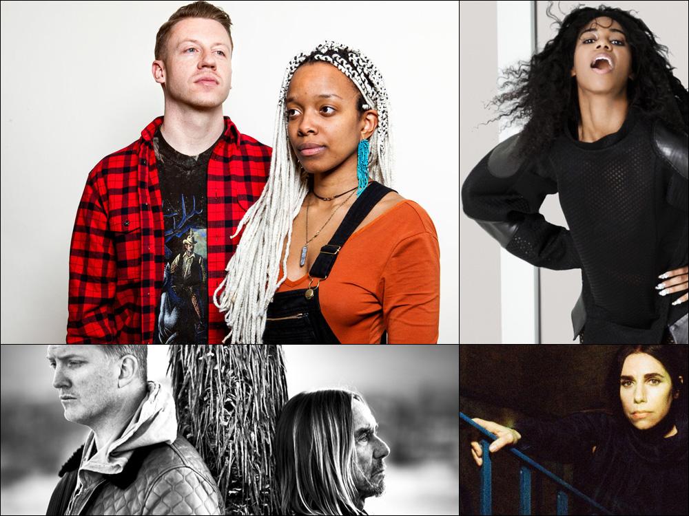 New Mix: Santigold, Macklemore, PJ Harvey, Iggy Pop, More