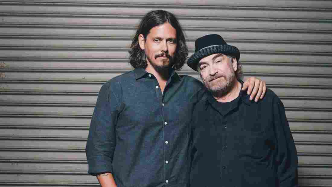 John Paul White (left) and Donnie Fritts.
