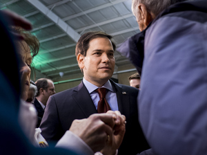 Florida Sen. Marco Rubio may have finished third, but he had a better-than-expected night in Iowa, thanks in part to larger turnout and evangelical voters.