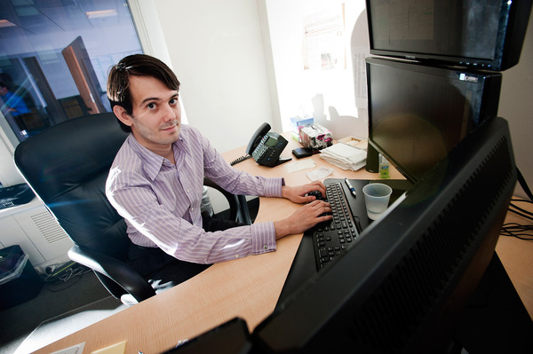 Martin Shkreli was CEO of Turing Pharmaceuticals when the company boosted the price of a drug by 5,000 percent. He has since resigned.