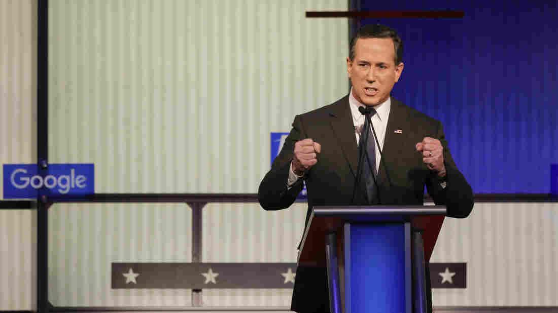 Former Pennsylvania Sen. Rick Santorum is ending his presidential campaign.