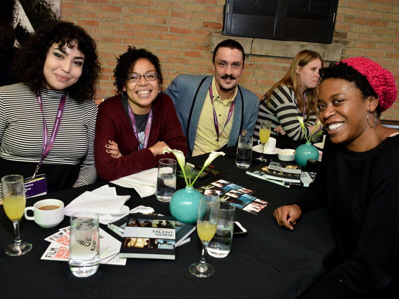 Guests attend the Film Independent Brunch during the 2016 Sundance Film Festival. Araya Diaz/Getty Images via NPR