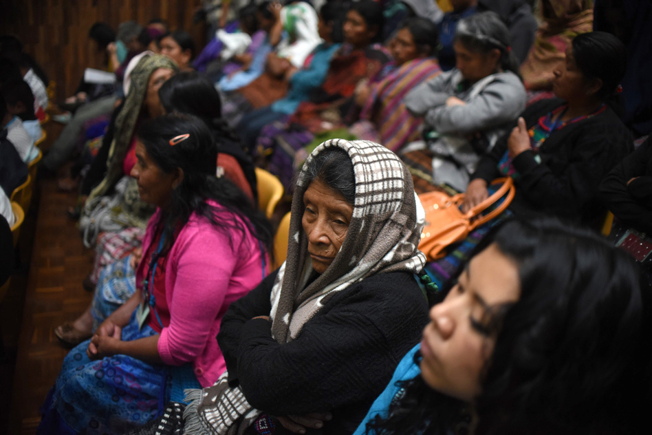Mayan Women Accuse Military Officials Of Holding Them As -2980
